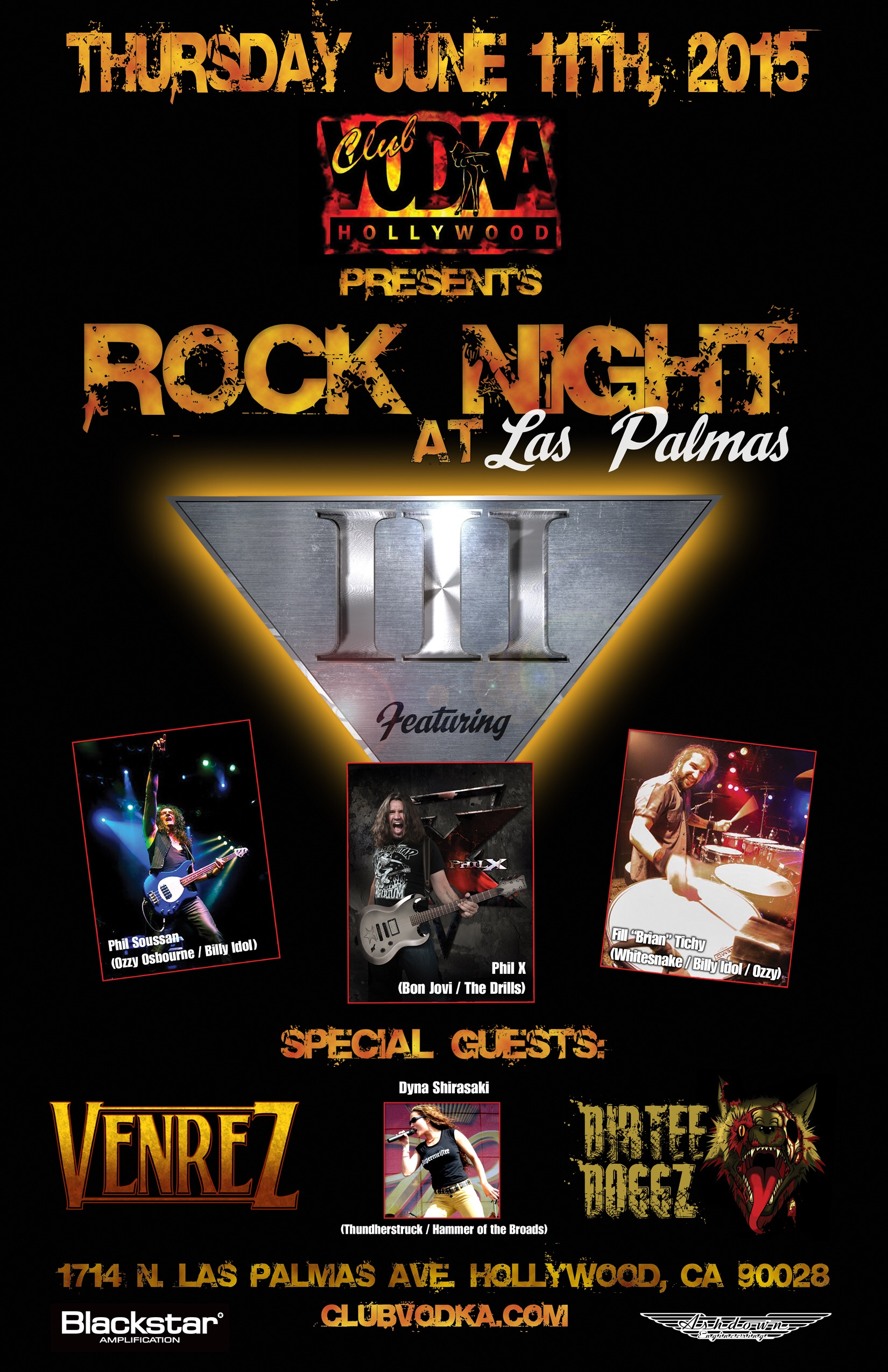 Rock Night at Las Palmas
